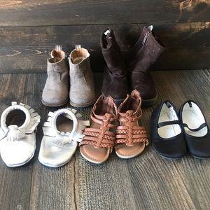 Toddler Girls size 6 shoe lot